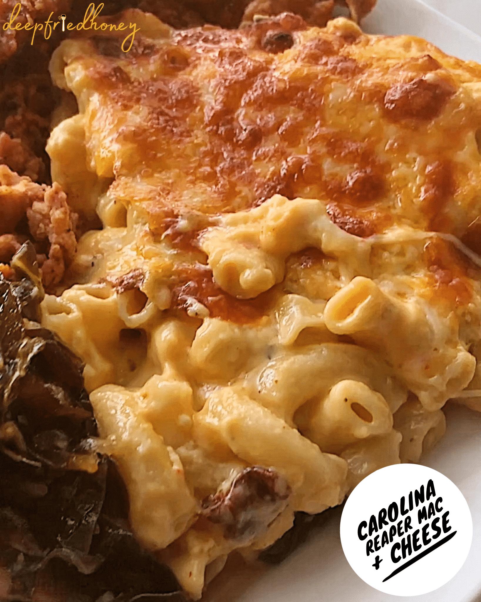 Carolina Reaper Mac & Cheese