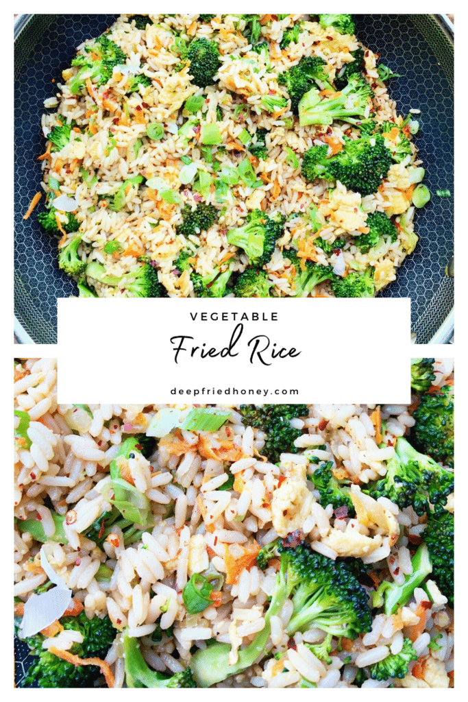 vegetable fried rice pinterest
