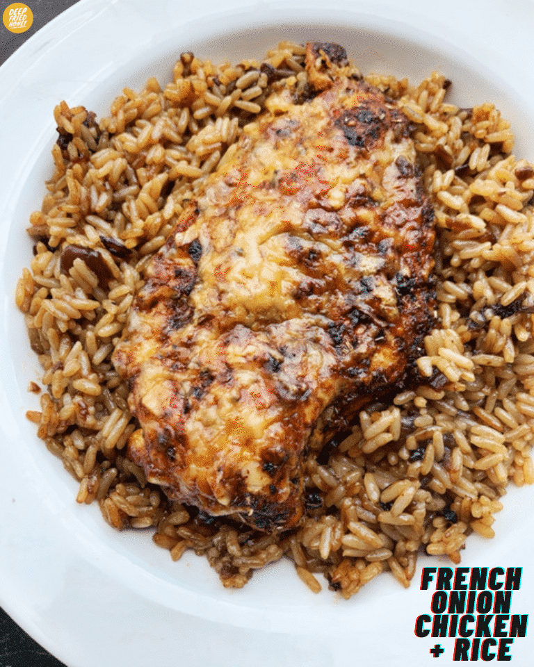 french onion chicken and rice