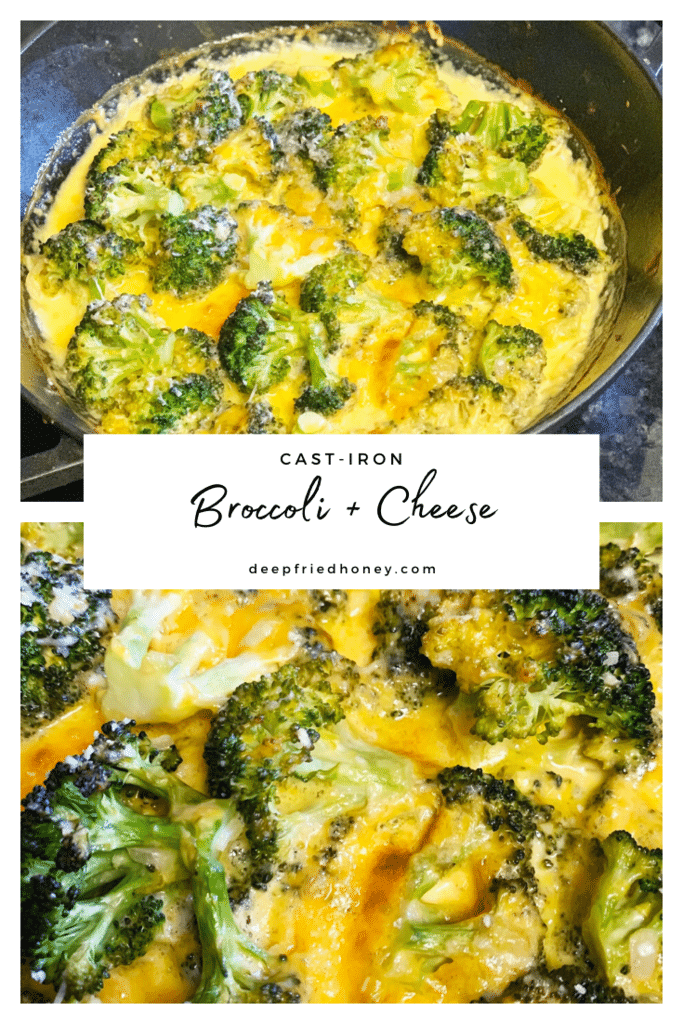 Cast-Iron Broccoli and Cheese