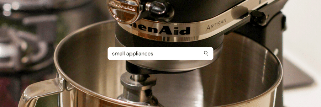 cooking essentials small appliances