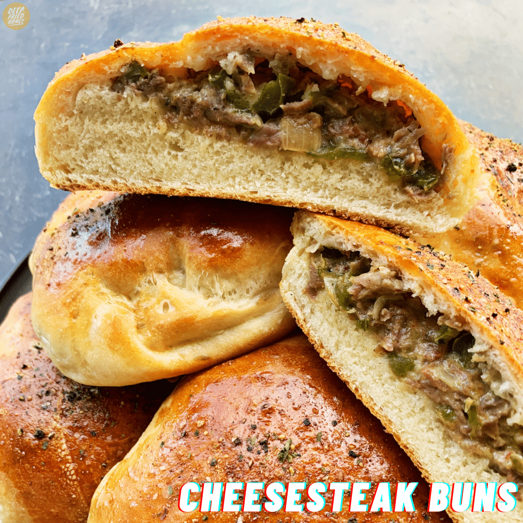 Cheesesteak Buns