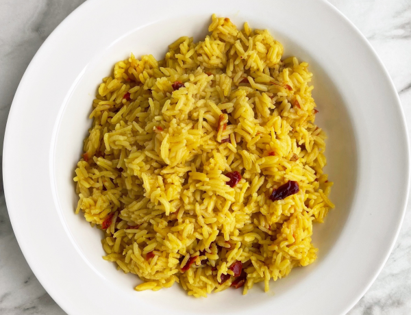 Spicy Yellow Rice