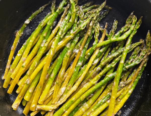 Lemon Parmesan Asparagus
