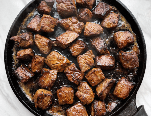 Cajun Butter Steak Tips
