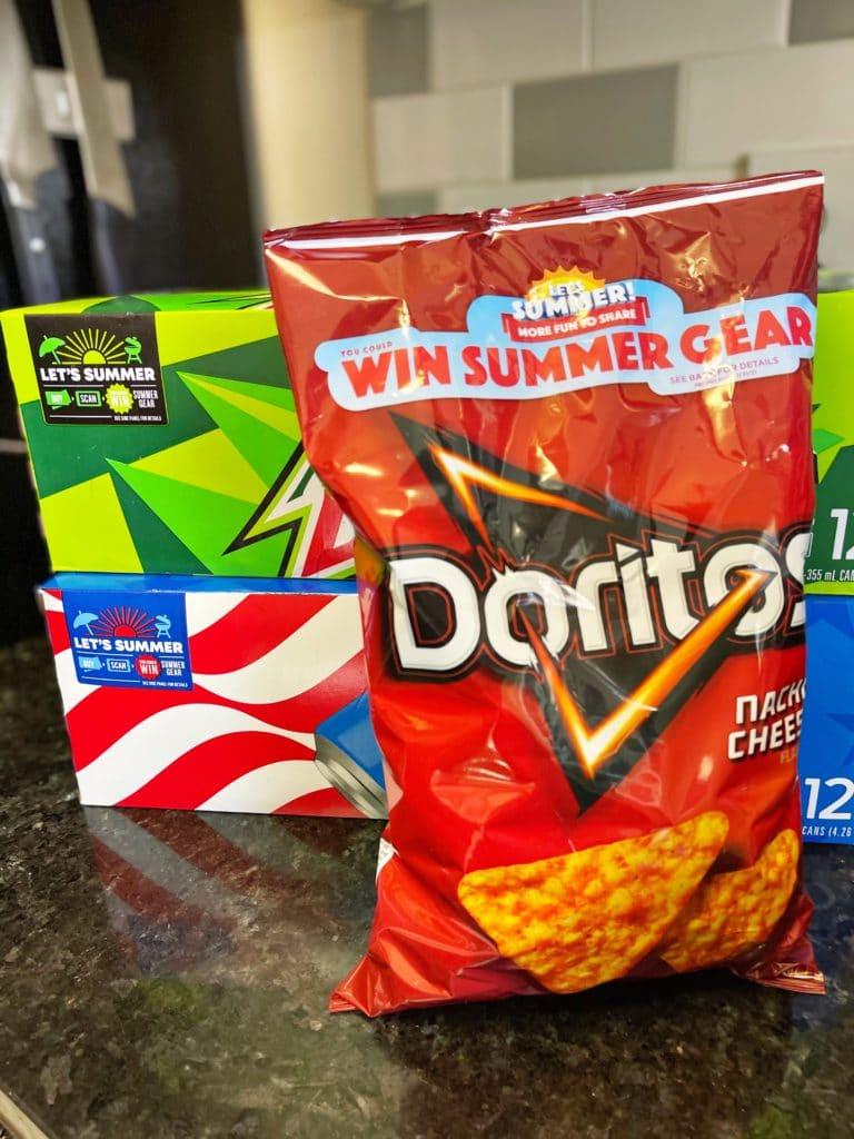 Doritos and Soda