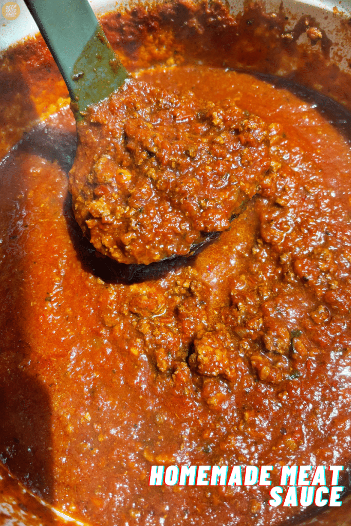 Homemade Meat Sauce