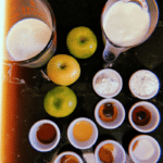 ingredients for Apple Crumble French Toast